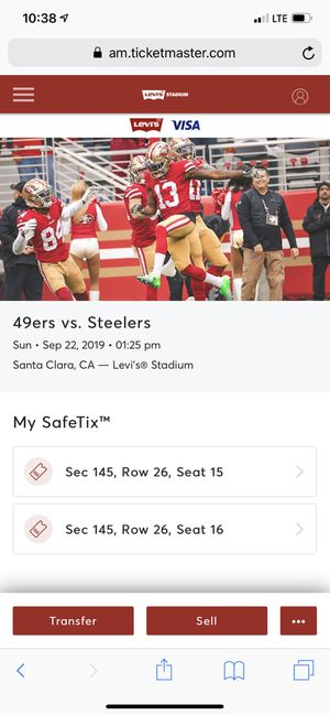 49ers opener for Sale in San Jose, CA