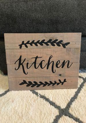 "Wood ""Kitchen"" sign for Sale in Orlando, FL"