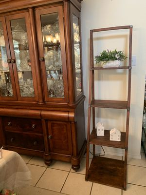 Wood ladder shelf only for Sale in Fort Worth, TX