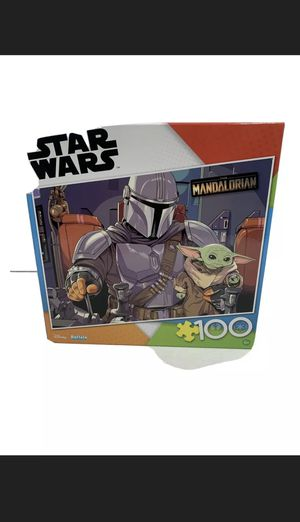 Star Wars The Mandalorian Baby Yoda 100 Piece Jigsaw Puzzle Buffalo Games for Sale in Sacramento, CA