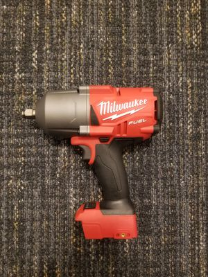Like new M18 FUEL 18-Volt Lithium-Ion Brushless Cordless 1/2 in. Impact Wrench with Friction Ring (Tool-Only) for Sale in Renton, WA