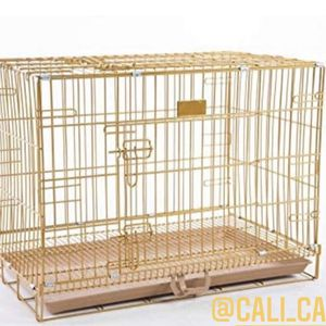 Dog Pet Wire Gold Crate Size 30 Inch Medium New In Box 📦 for Sale in Chino, CA