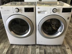 LG 4.5 cu.ft. Washer and Electric Dryer Only $50 down take it home today for Sale in Las Vegas, NV