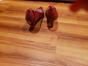 Hot pink ankle strap pumps for Sale in New Haven, CT
