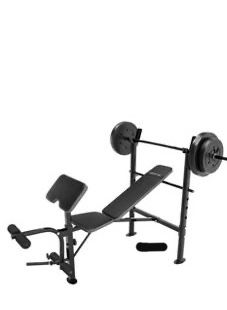 180lb Competitor Weight Bar + Bench for Sale in Washington, DC