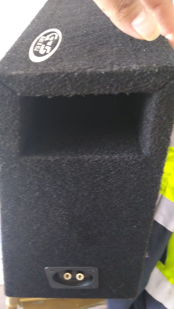 Hifonics subwoofer in ground shaker ported box