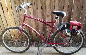 Honda 35.8ccGas Bicycle Motor Ready To Mount and Ride! No license required! for Sale in Forest Park, IL