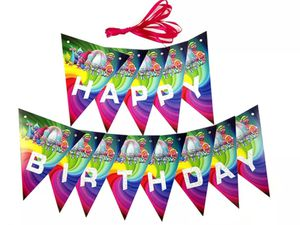 TROLLS BIRTHDAY PARTY DECORATION BANNER for Sale in Humble, TX