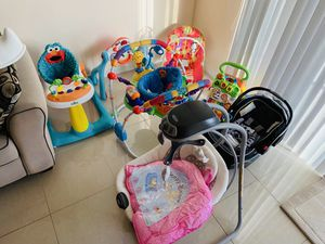 Baby Toys, Swing and Car Seat for Sale in Biscayne Park, FL