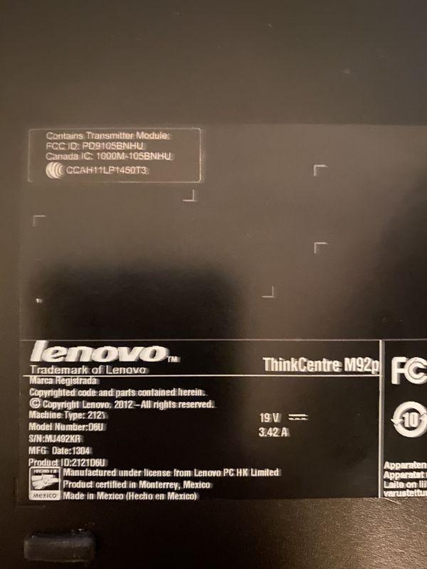 Lenovo ThinkCentre M92p Small Form Factor