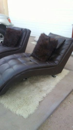 Set of. 2 lounge sofa seats for Sale in Tempe, AZ