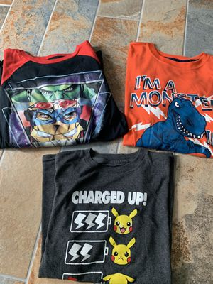 XL kids shirts for Sale in Pasadena, TX