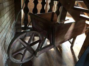 Antique Wooden Wheelbarrow for Sale in Walkersville, MD