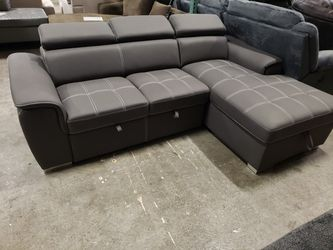 New sectional sofa sleeper tax included delivery available for Sale in Hayward,  CA
