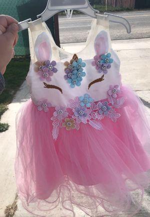 Unicorn dress for Sale in Moreno Valley, CA