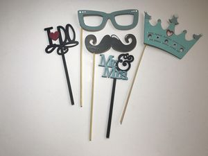 Set of 5 Wedding Photo Booth Props for Sale in East Los Angeles, CA