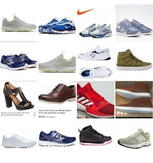 Lot 16 pair of NEW shoes nike, addidas, saucony, reebok for Sale in Los Angeles, CA