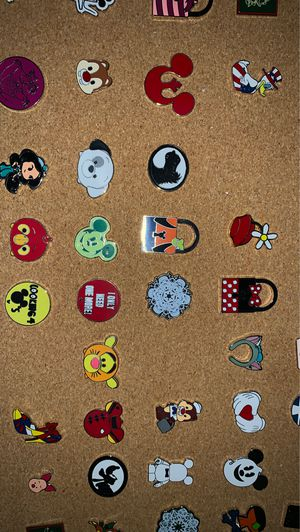 Disney collectables pins 10 pins for $20 for Sale in Chula Vista, CA