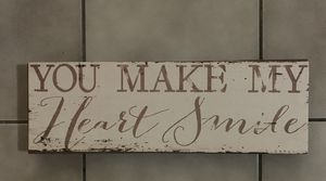 """You make my heart smile"" Wall Decor for Sale in Seminole, FL"