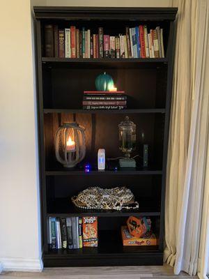 Pair of black bookshelves for Sale in Newport Beach, CA