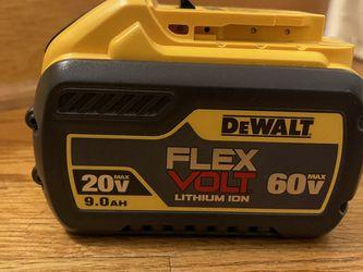 Dewalt 9AH Flexvolt Battery for Sale in Manassas,  VA