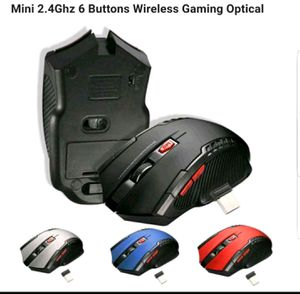 Mini 2.4Ghz 6 Buttons Wireless Gaming optical Mouse Mice with USB Receiver for Desktop Laptop Computer for Sale in Winchester, VA