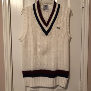 Vintage IZOD Lacoste Vest Sweater | Size: Small (Mens) for Sale in Humble, TX