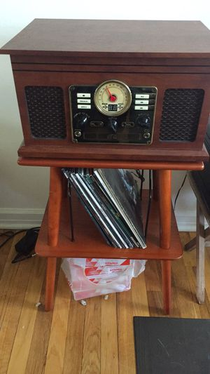 Record player + stand for Sale in Ithaca, NY