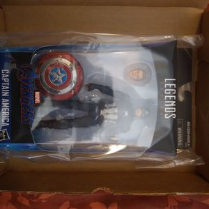 Marvel Legends Worthy Captain America for Sale in San Lorenzo, CA
