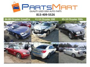 Chrysler Crossfire 200 300c Used OEM Parts for Sale for Sale in Tampa, FL