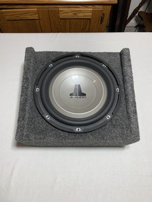 """JL Audio 10"""" Subwoofer and Enclosure for Sale in Strongsville, OH"""