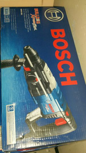 $200. Bosch 8.5 Amp Corded 1-1/8 in. SDS-Plus Variable Speed Concrete/Masonry Rotary Hammer Drill with Carrying Case. for Sale in Evergreen, CO