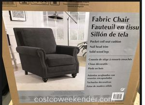 Fabric Accent Chair from Costco for Sale in Virginia Beach, VA