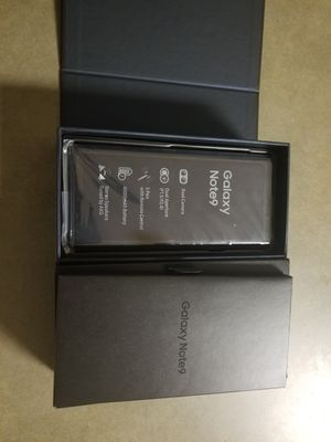 Samsung Galaxy Note 9 factory unlocked for Sale in Berea, OH