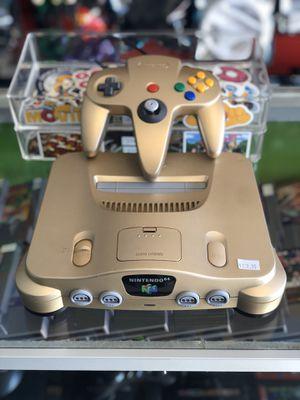 Gold Nintendo 64 for Sale in Grand Prairie, TX