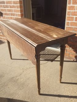 Antique Entryway Table With Leaf Farmhouse Restoration Project for Sale in Virginia Beach,  VA