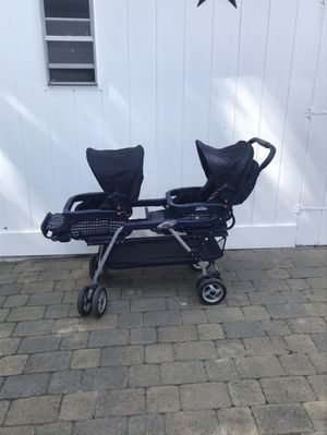 Peg Perego double stroller for Sale in Revere, MA