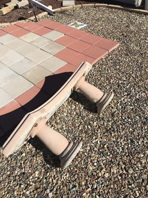 Free concrete bench for Sale in Menifee, CA