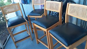 Bar stools mint condition for Sale in Largo, FL