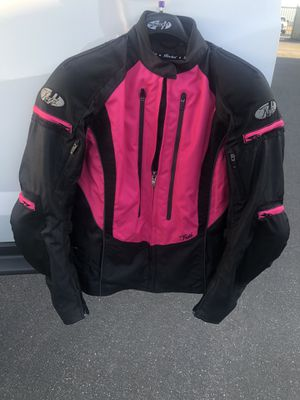 Motorcycle jacket and helmet for Sale in Beaumont, CA