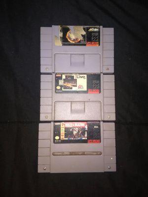 3 Super Nintendo Games for Sale in Nashville, TN