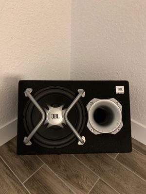 JBL Subwoofer with wiring harness for Sale in Sebring, FL