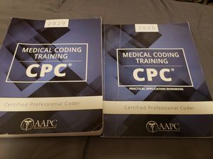 Aapc cpc workbook and study guide for Sale in Winter Garden, FL
