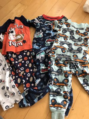 Lot of 7 Baby Boys pajamas for Sale in Sarasota, FL