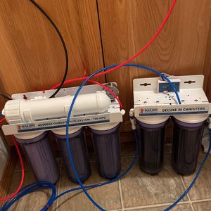 6 Stage RO/DI water Maker For Aquariums for Sale in Vancouver, WA