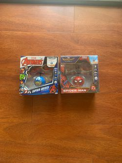 Avengers Captain America and Spider-Man flying UFO Balls for Sale in San Jose,  CA