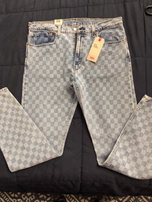 Levi's checkered jeans for Sale in Los Angeles, CA