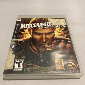 Mercenaries 2 For PlayStation 3 PS3 Complete CIB Video Game for Sale in Camp Hill, PA