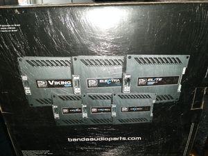 Banda 5000w RMS 1 channel amplifier for Sale in Las Vegas, NV