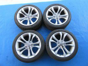 "18"" Audi A5 S5 rims wheels tires set 6262 for Sale in HALNDLE BCH, FL"